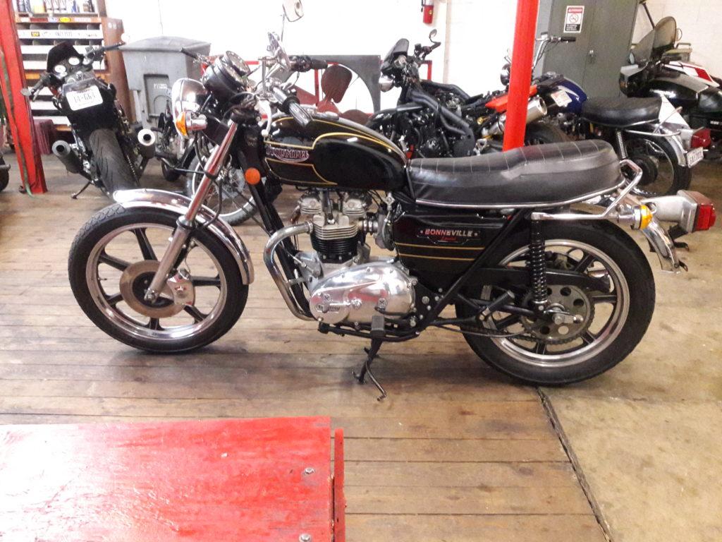 1979 Triumph Bonneville Special T140D $6500.00
